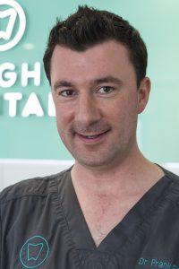 Dr Frank Farrelly, Principal Dentist