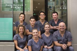The Darlinghurst Dental team - dentists, dental assistants, receptionists and practice manager.