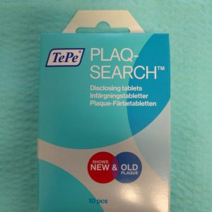 Packet of Tepe PlaqSearch Plaque Disclosing Tablets