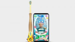 New toothbrush for kids