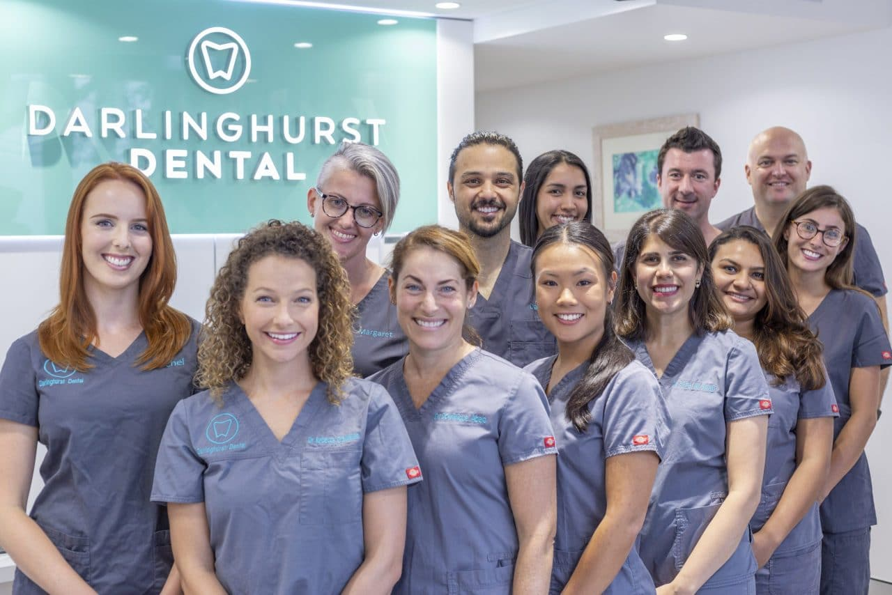 Darlinghurst Dental Team - dentists, dental assistants, receptionists and dental practice manager.